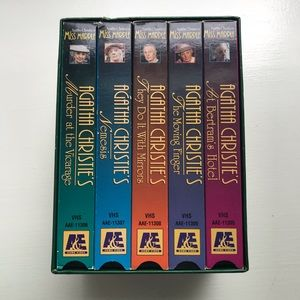 Agatha Christie's Miss Marple Collection 2 VHS